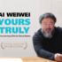 Ai Weiwei Yours Truly Facebook Banner